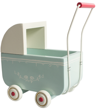 Barnvagn Maileg ljus blå