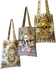 Shopping bag Skull Rachel van Ash shabby chic lantlig stil