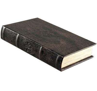Boklåda antik stil bok fransk lilja monogram shabby chic lantlig stil