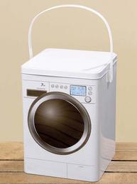 Tvättmedelsburk burk för tvättmedel shabby chic lantlig stil
