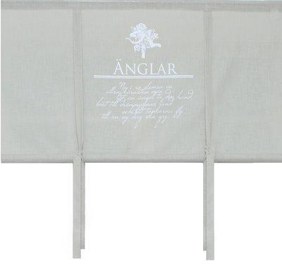 Hissgardin linne färg Skyddsängel ängel shabby chic lantlig stil
