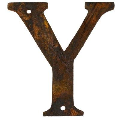 Y - rostigt gjutjärn