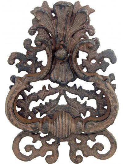 Dörrkläpp dörrknack Slott gjutjärn gammeldags shabby chic lantlig stil