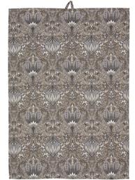 Handduk kökshandduk grå Morris shabby chic lantlig stil