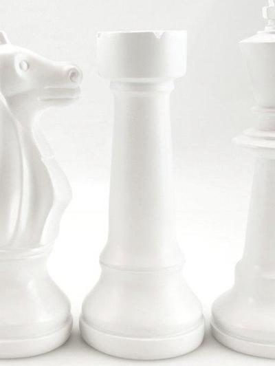 Schackpjäs vit