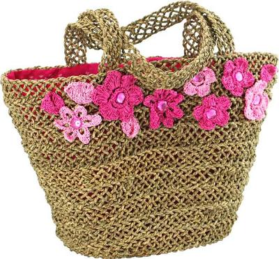 Strandväska shoppingbag shabby chic lantlig stil