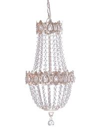 Takkrona silver Romantic shabby chic lantlig stil