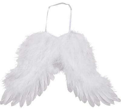 Vita änglavingar 2 storlekar  shabby chic lantlig stil