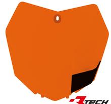 Nummerplåt KTM SX/SXF 13-15 Orange