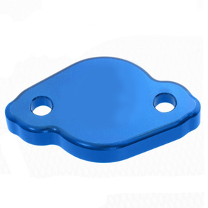 Bakre bromscylinderlock YZ/YZF 03->, Blå