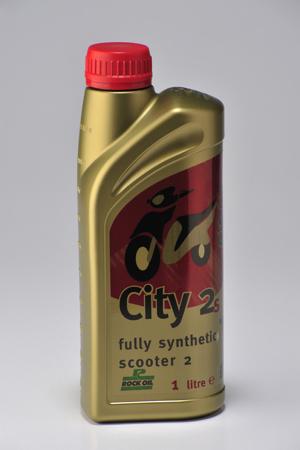 City 2 Syntetsisk Scooter olja