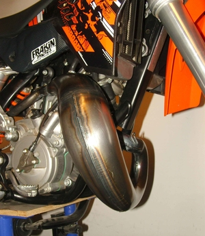 Trimrör KTM 65, 09->