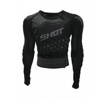 SHOT, SKYDDSJACKA AIRLIGHT EVO BLACK/GREY, VUXEN, S