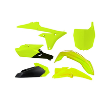Plastkit YZF 250/450 14-> Neon Gul (inkl. luftburk)