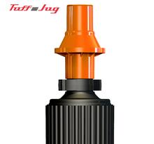 Tuff Jug komplett munstycke svart/orange