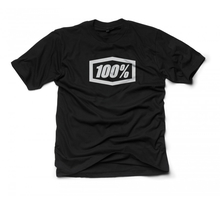 100%, ESSENTIAL TEE-SHIRT, VUXEN, XL, SVART