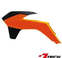 Kylarvingar KTM SX/SXF 125-450 13-15, EXC 14-> Orange/Svart