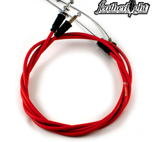 Gas push/pull CRF 250, 04 CRF 450 06-07 Featherlight
