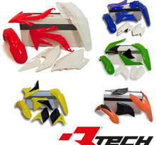 Plastkit KTM EXC 125-500, 14-> Vit (ej nr.plåt fram)