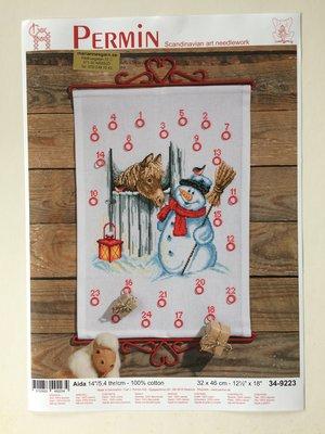 """Julkalender-""""snögubbe och häst"""""""