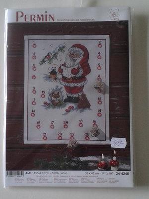"""Julkalender-""""sjungande tomte"""""""
