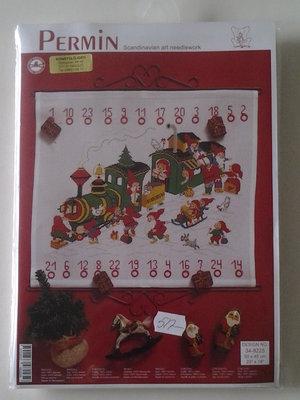 """Julkalender-""""jultåget"""""""