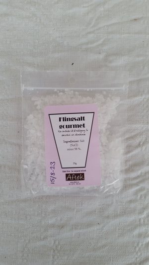 Krydda, Flingsalt gourmet, 35gr, Aftek