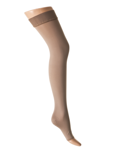 Open-toed compression stockings ccl2, stay-up 23-32 mmHg