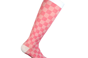 Compression socks class 1 Pink Chess
