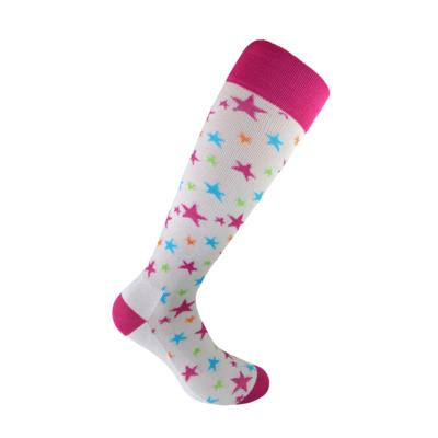 Starling White compression socks