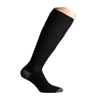 Support socks twist black and grey