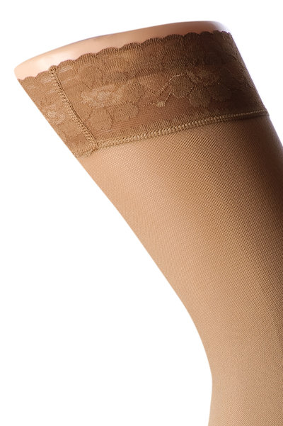 Compression stocking microfiber Stay-up