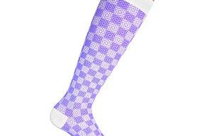 Compression socks Purple Chess, class 1 & 2