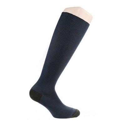 Support socks twist blue and black