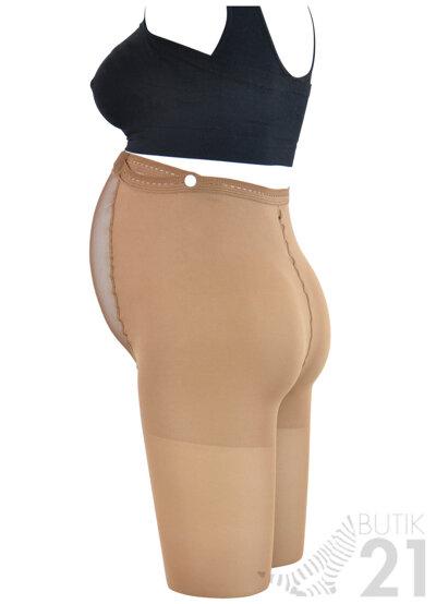 Compression tights for pregnant women in microfiber, 18-22 mmHg