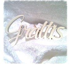 Dekoration/stick Grattis