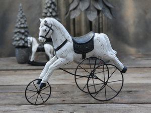Vintage häst på hjul