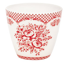Lattemugg Stephanie Red - GreenGate