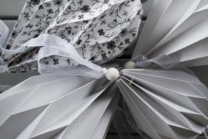 Pappballong - Grå