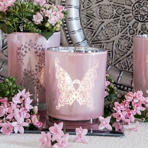 Majas Lykta - Rosa Bandet/ Pink Ribbon Butterfly