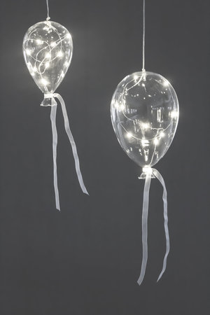 Glasballong Led - Liten