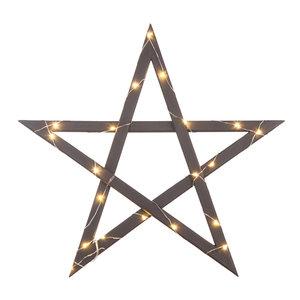 Stjärna med ljusslinga