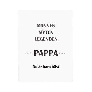 Tavla - Mannen myten....