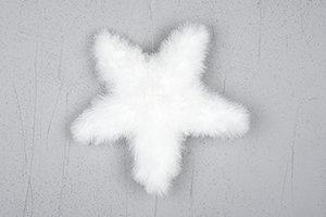 Fjäderstjärna 38 cm