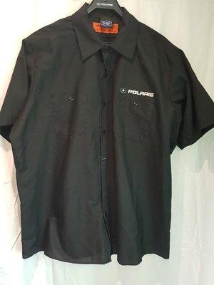Skjorta, svart 2XL