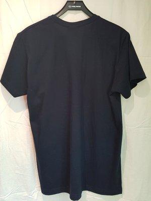 T-shirt, ACE mörkblå (barnstorlek) L
