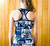 Svart och mönstrat linne från Elitexpression