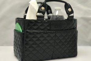 Sargväska i glittrig  plast