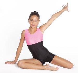 Gymnastikdräkt med korta ben