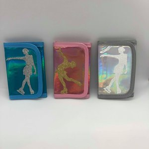 Plånbok med konståkningsmotiv